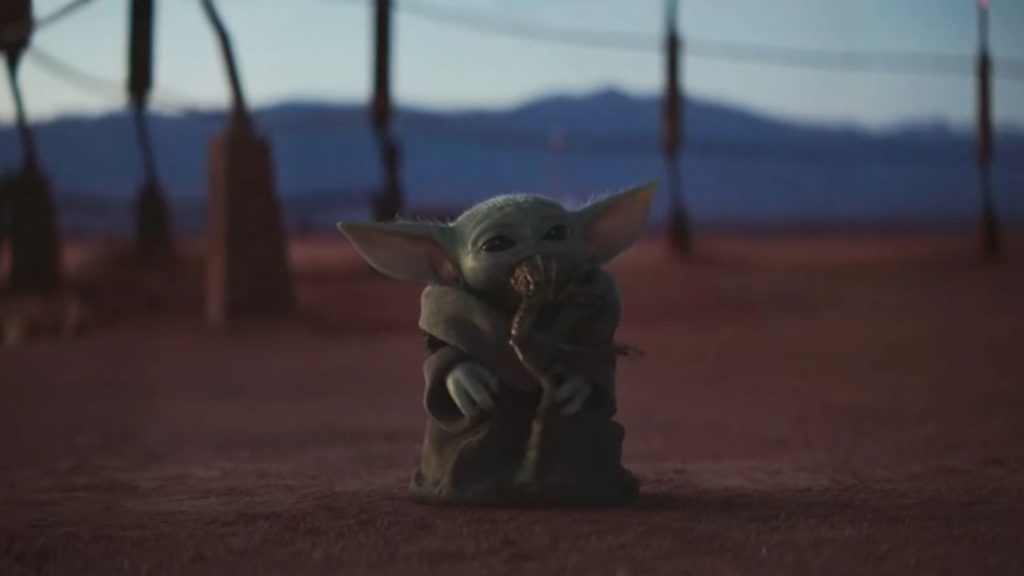 Baby Yoda Cup Wallpaper