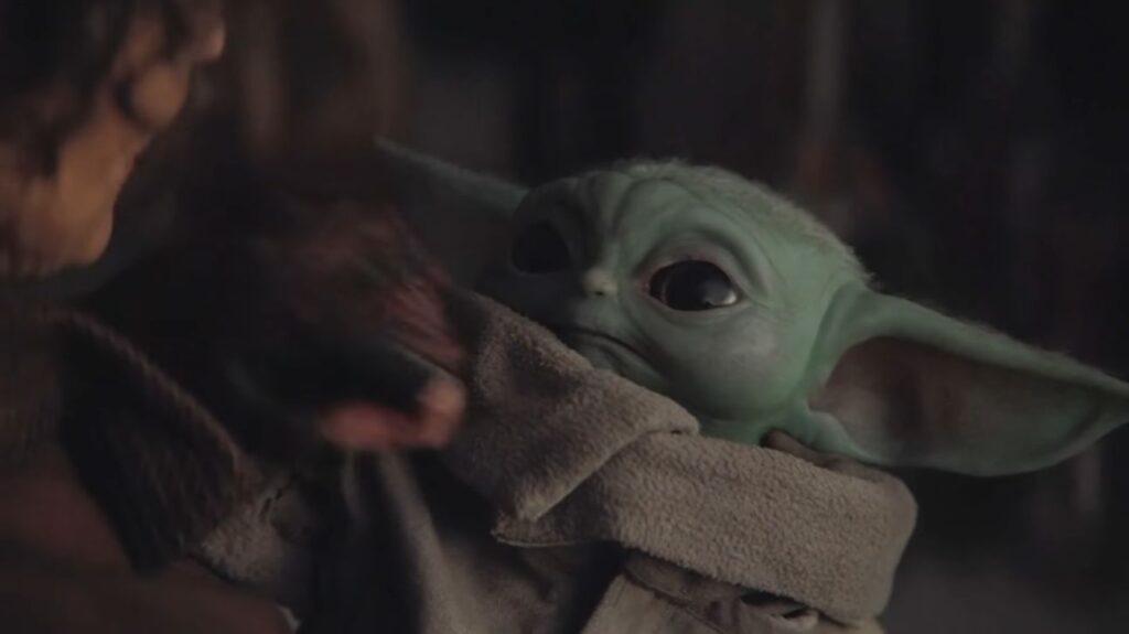 Baby Yoda Background Wallpaper