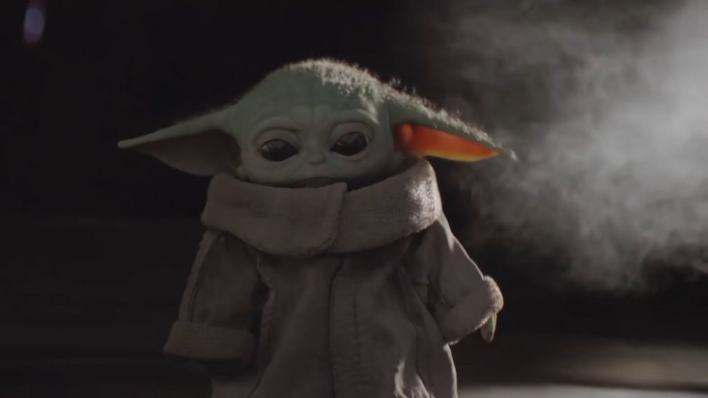 Mandalorian And Baby Yoda Wallpaper