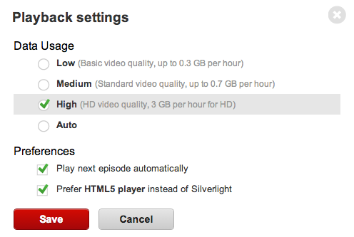 How to Change Netflix Video Quality